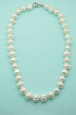 "Pearl 8mm Round 17"" Neck"