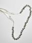 Clear/Silver Multiple Stones One Row Belt