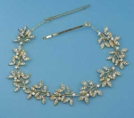 Clear/Gold Branch Shape Headband