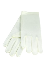 Satin Gloves 3-6 Child's Ivory