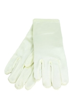 Satin Gloves 7-14 Child's Ivory