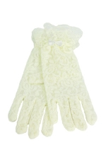 Lace Gloves 3-6 Child's Ivory