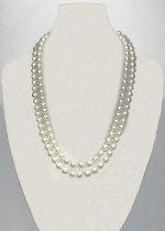 """Pearl/ 60"""" 12MM Necklace"""