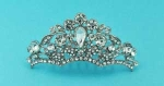 Clear/Silver Multiple Stones Mini Tiara