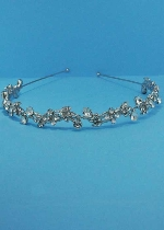Clear/Silver Branch Shape Head Band