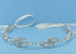 Pearl/Clear Branch Shape Headband