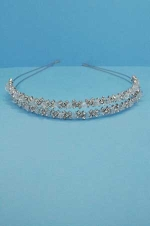 Clear/Silver Multiple Small Stone Tiara