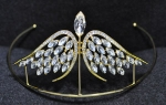 Clear/gold Angel Wing Tiara
