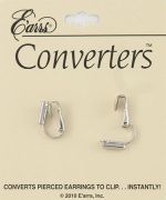 Earrings Converters Silver