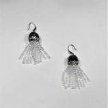 Crystal/Silver Fashion Multiple Rows Fish Hook