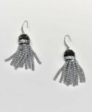 Comet/Silver Fashion Multiple Rows Fish Hook Earrings