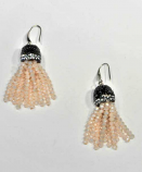 Light Rose/ Fashion Multiple Rows Fish Hook Earrings